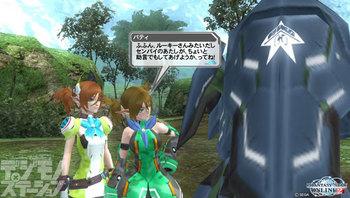 『ファンタシースターオンライン2』03_場面写真01